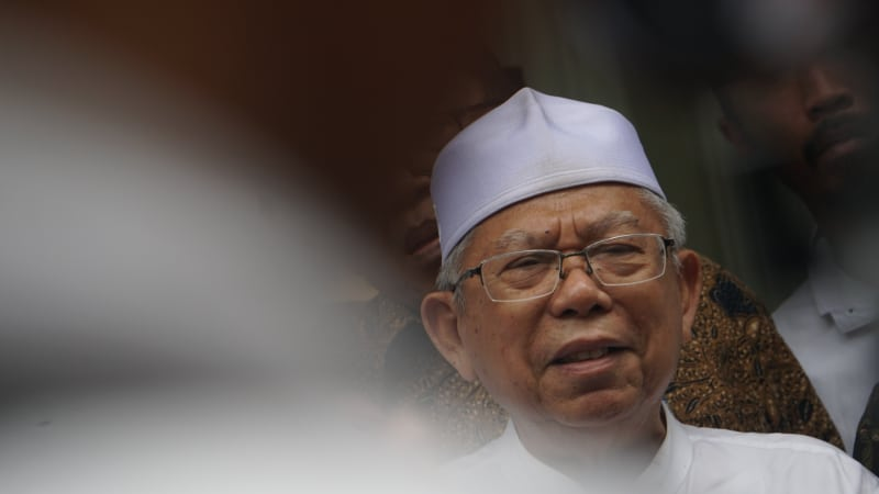 Dampingi Jokowi di Pilpres, Jabatan Ma'aruf Amin tetap aman