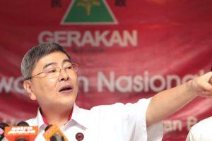 Mah Sier Keong masih tetap presiden pergerakan