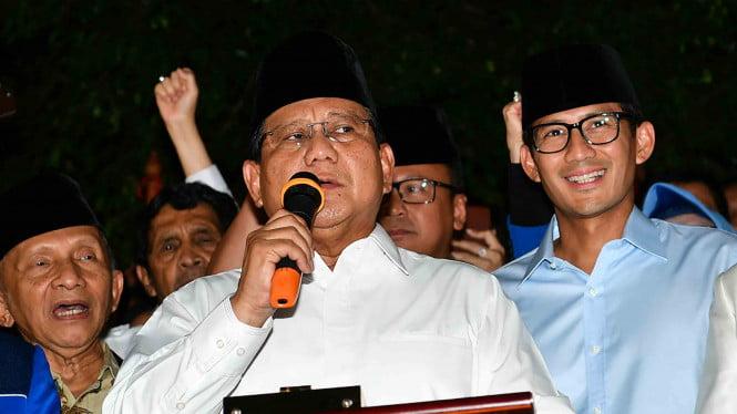 "Pemenangan Capres-Wapres Prabowo Subianto Memakai Kata ""Tubuh"""