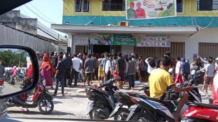 Korban gempa zarah minimarket, Pemerintah : Kita Bayar Menutup aib bangsa