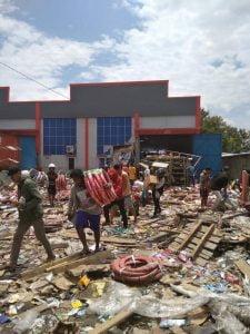 Penjaran Korban Gempa Tsunami Palu