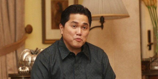 Erick Thohir capres cawapres kami yang terbaik