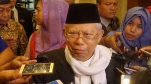 Calon Wakil Presiden, Ma'ruf Amin