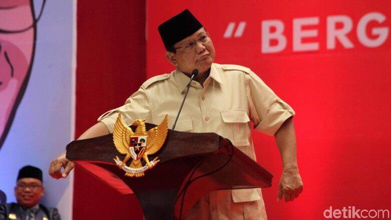 Tak didukung Elite, Prabowo terpaksa minta dana kependukungnya