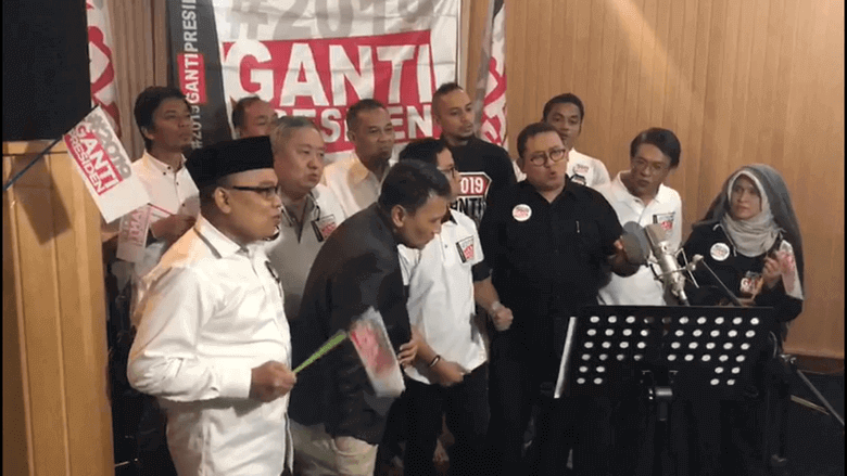 Prabowo dicap pendukung ISIS