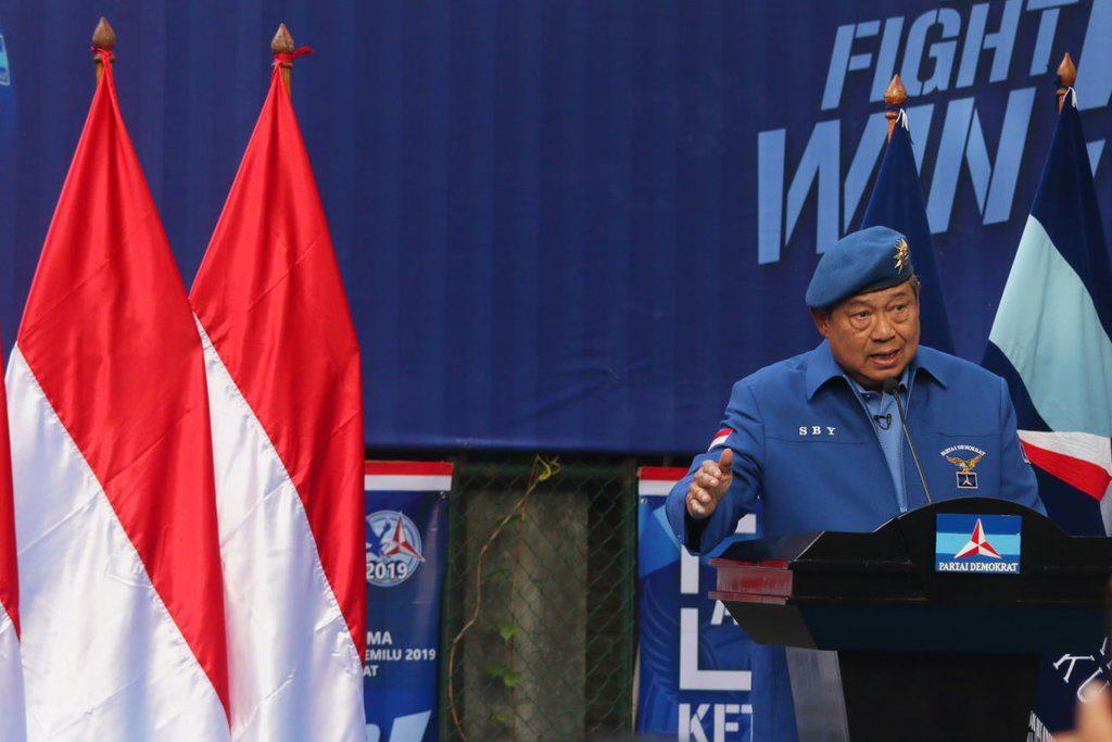 SBY Membicarakan Untuk Tidak Menggunakan Politik Identitas Untuk Jokowi dan Prabowo