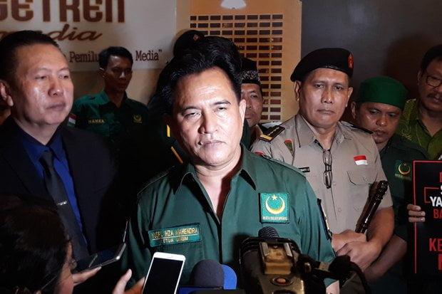 Keputusan PBB Terpengaruh Oleh Yusril Yang Membela Jokowi-Ma'ruf