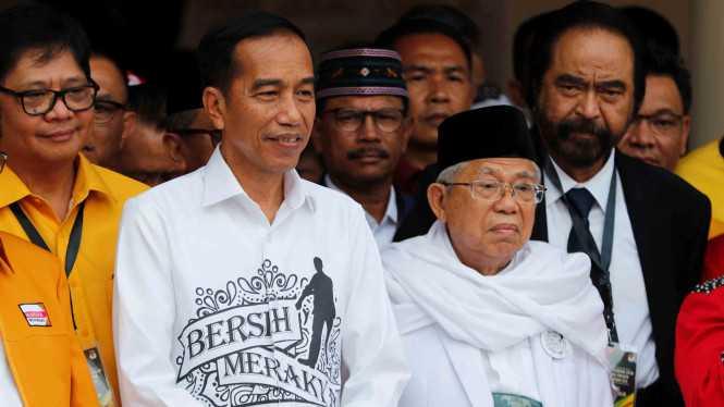 Jokowi-Maruf lebih populer, Kubu Prabowo anggap itu wajar.