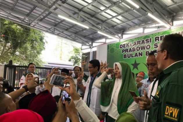Sekumpulan caleg PBB deklarasi dukung Prabowo
