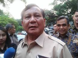 Prabowo ucapkan duka untuk korban tsunami
