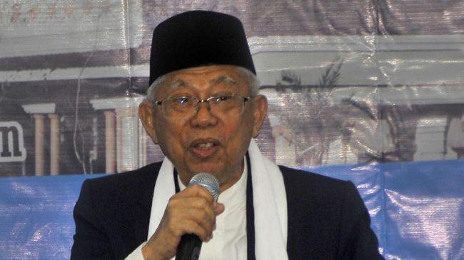Maruf Amin: Moderator jangan sudutkan paslon ketika debat