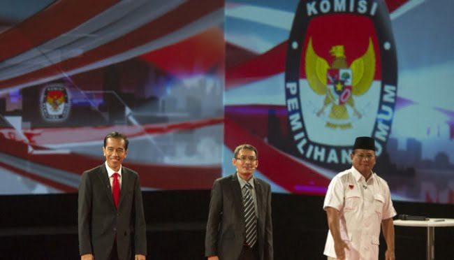 Debat Pilpres 2014 Jokowi vs Prabowo