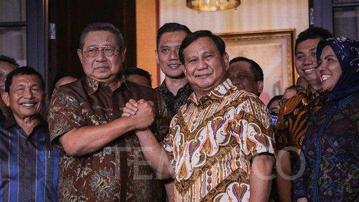 SBY dan Prabowo adakan rapat