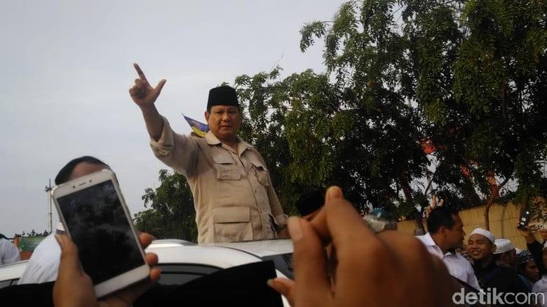 Prabowo sebut ada daerah kesulitan air bersih