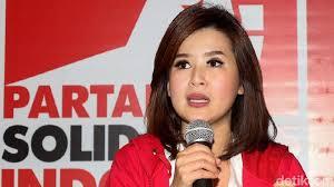 Artis Grace Natalie dukung Jokowi