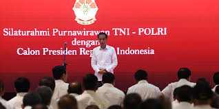 Purnawirawan dukung Jokowi, ini alasannya