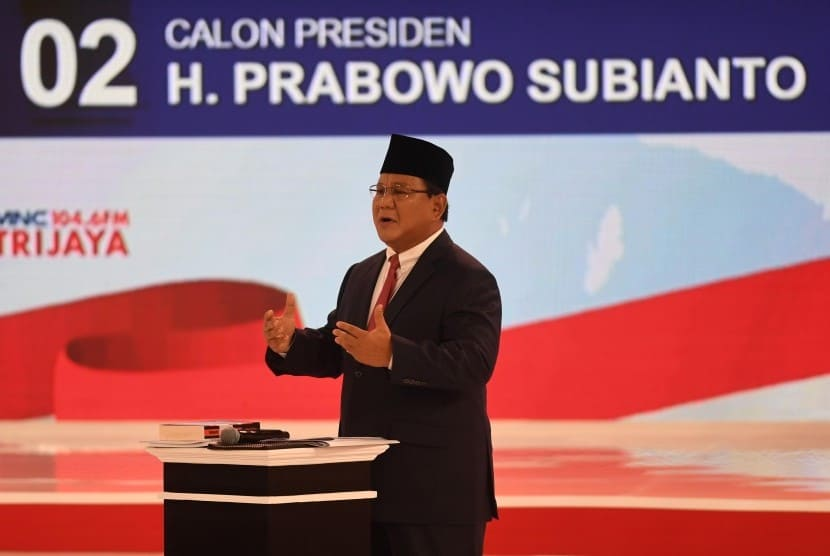 5 janji kampanye Prabowo
