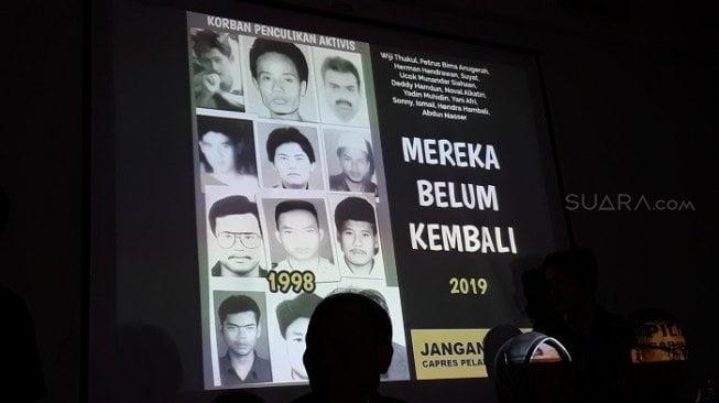 Alasan keluarga korban penculikan tolak Prabowo