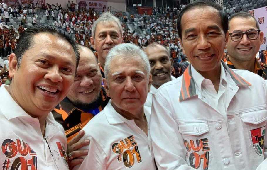 Dukung Jokowi, Pemuda Pancasila puji Prabowo juga
