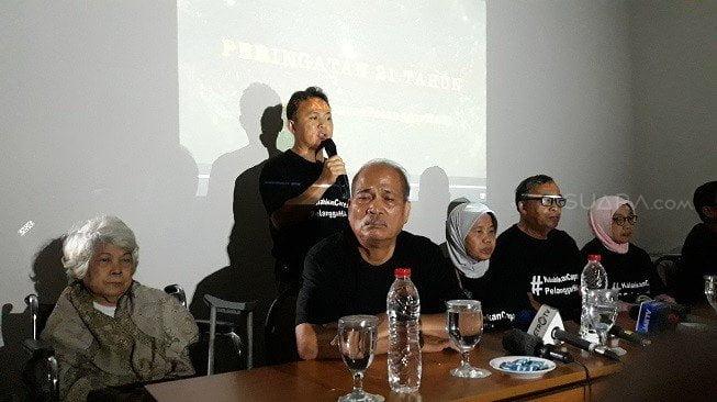 Keluarga korban penculikan dukung Jokowi-Ma'ruf
