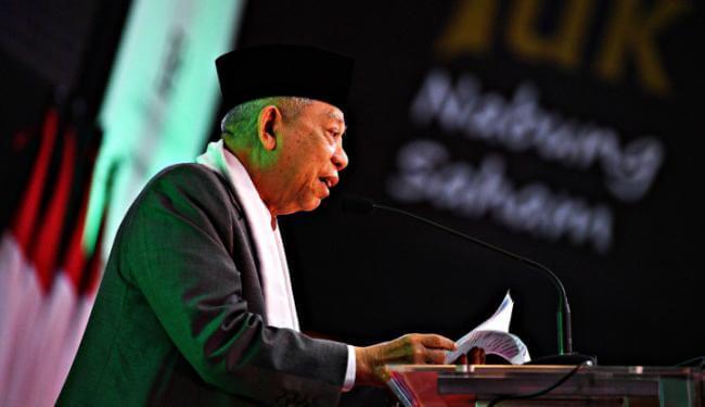 Ma'ruf dukung NU tolak istilah kafir untuk non muslim Indonesia