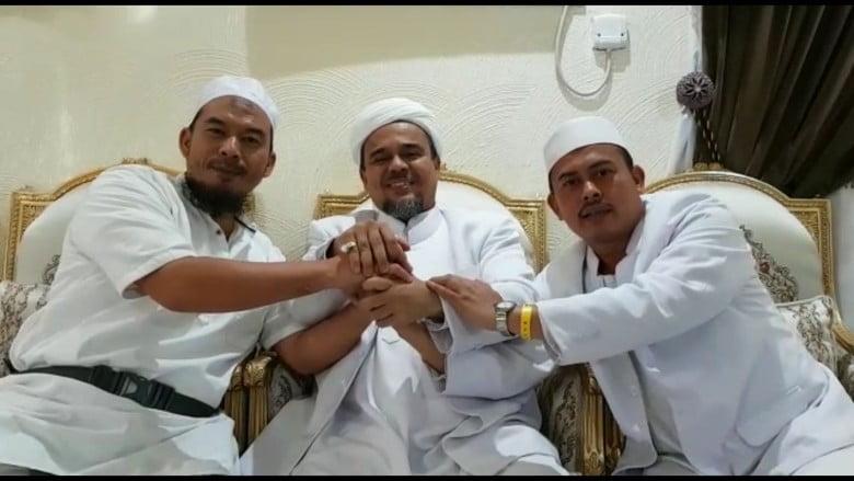 Pesan Rizieq: menangkan Prabowo-Sandi