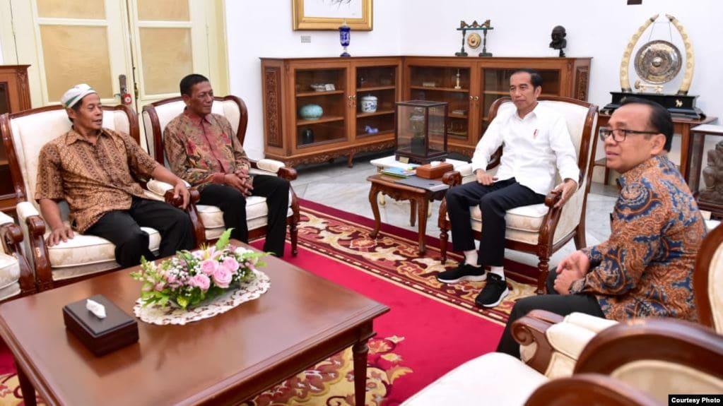 Jokowi bantu modal pedagang