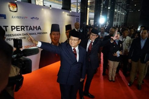 Prabowo-Sandi menang di Jeddah dan Abu Dhabi