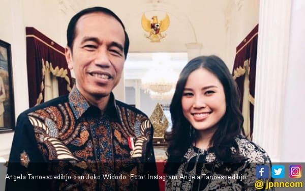 Angela Tanoesoedibjo & Jokowi