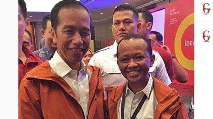 Bahlil Lahadalia & Jokowi