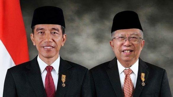Jokowi - M'aruf Resmi Pimpin Indonesia 5 Tahun Kedepan